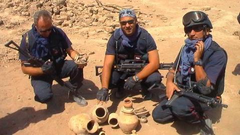 I carabinieri del nucleo tutela patrimonio culturale operativi in Iraq