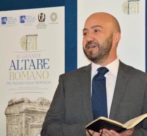 Carmelo Malacrino, direttore del museo Archeologico nazionale di Reggio Calabria