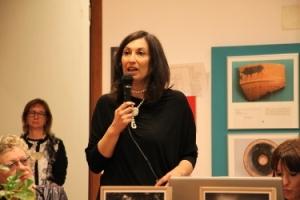 Maria Cristina Vallicelli, direttrice del museo di Adria