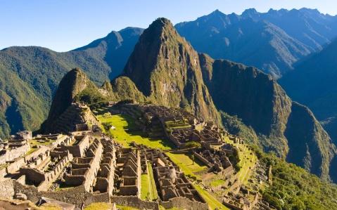 Il sito archeologico di Machu Picchu, il più famoso del Perù, patrimonio dell'Unesco