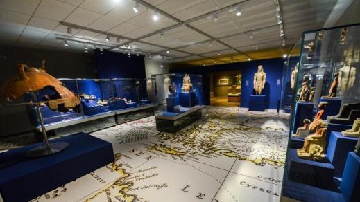 """La mostra """"Il Nilo a Pompei"""" nella nuova sala del museo Egizio di Torino intitolata a Khaled Asaad, l'archeologo siriano ucciso dall'Isis"""