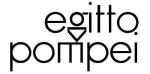 """Il logo del progetto espositivo """"Egitto Pompei"""" tra Torino, Pompei e Napoli"""
