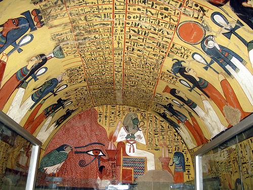 La tomba affrescata di Pashedu, scoperta nel 1834 a Deir el Medina sulla sponda occidentale di Tebe