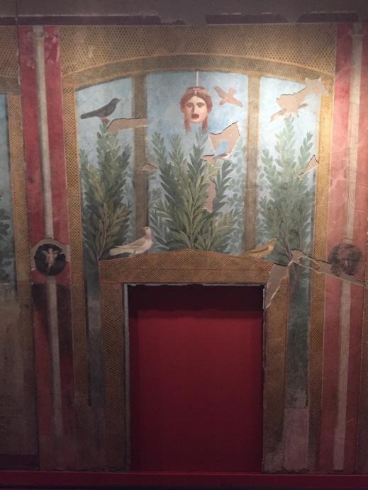 Un affresco proveniente dalla Casa del Bracciale d'Oro di Pompei