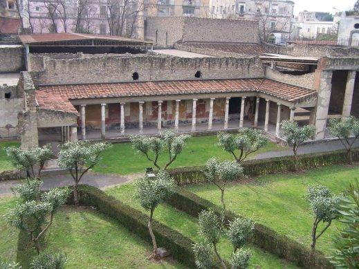 La cosiddetta Villa di Poppea nel sito di Oplontis a Torre Annunziata