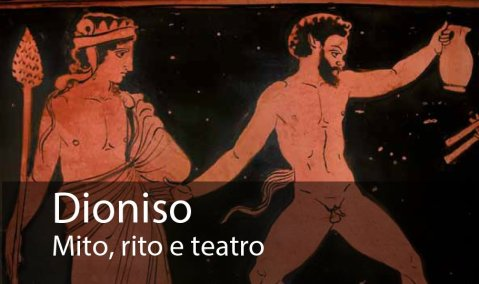 """Il manifesto della mostra """"Dioniso. Mito, rito e teatro"""" alle Gallerie di Palazzo Leoni Montanari di Vicenza"""