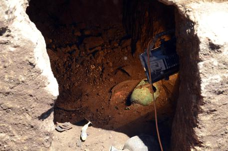 Lo scavo di emergenza della Tomba dello Scarabeo d'oro a Vulci di Montalto di Castro (Viterbo)