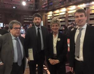 L'incontro tra Bianco, Franceschini, Christillin e Greco