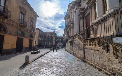 L'ex convento dei Crociferi a Catania indicato come possibile sede distaccata del museo Egizio di Torino
