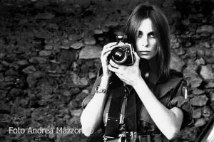 La fotografa Giorgia Fiorio