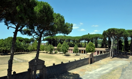 La Palestra Grande di Pompei sede della mostra del progetto Egitto Pompei