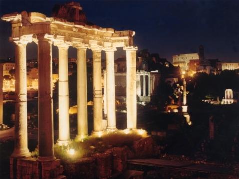 Nuova illuminazione a led al Foro Romano: più potente e più economica