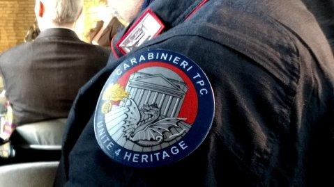 La Unite4Heritage è una task force composta da 60 unità pronte a intervenire su chiamata degli Stati