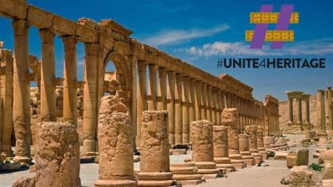 La prima missione dei Caschi blu della Cultura sarà al sito archeologico di Palmira