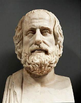 Il commediografo greco antico Aristofane