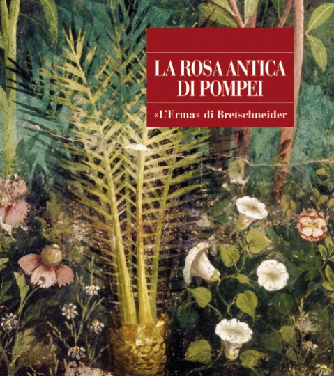 """La copertina del libro """"La rosa antica di Pompei"""" edita da L'Erma di Bretschneider"""