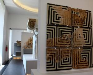 Scorcio delle nuove sale espositive del MarRC (foto Maria Mento)