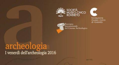 """La locandina dei """"Venerdì dell'archeologia"""" a Rovereto"""