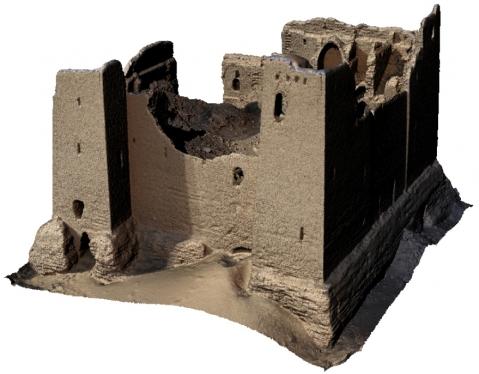 Il rilievo 3D del forte romano di Umm al-Dabadib realizzato dal 3D Survey Group del Politecnico di Milano