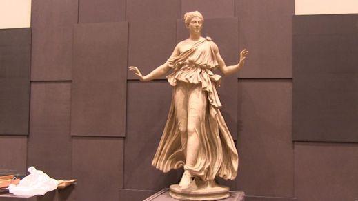 """La cosiddetta """"Ballerina"""", statua romana della collezione Riccardi finora mai uscita dalla sua sede"""