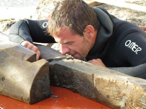 Francesco Tiboni, archeologo navale all'università di Aix en Provence