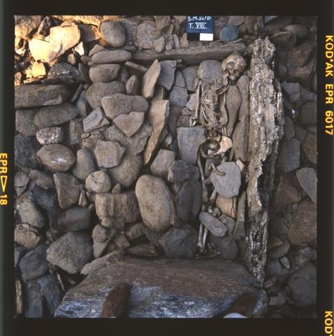 L'ultimo inumato a St-Martin: è stato rinvenuto nella tomba V dell'area megalitica di Aosta