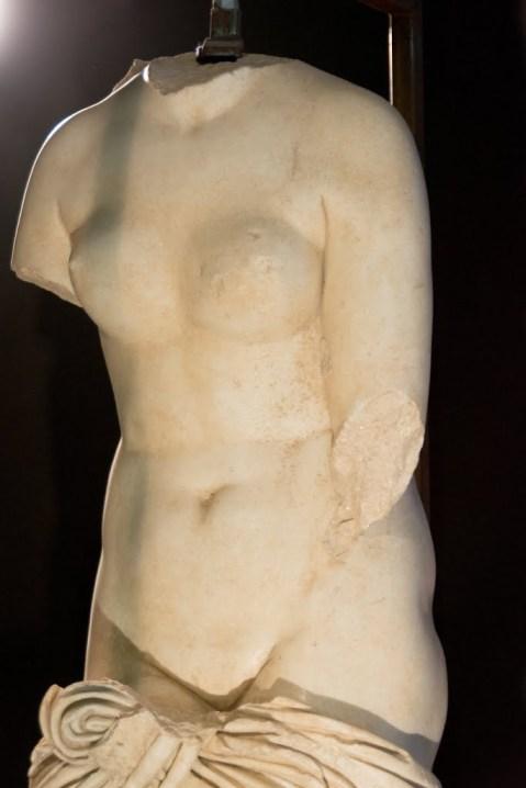La Venere Callipigia di Marsala, copia romana del II sec. d.C., uno dei reperti più famosi del museo di Marsala