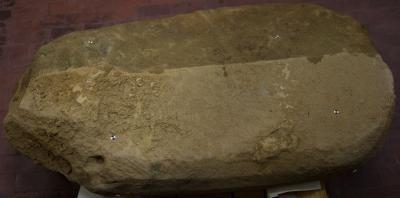 La stele rinvenuta nel sito etrusco del VII-VI sec. a.C. con un'iscrizione in etrusco