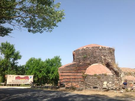 Il cantiere di scavo archeologico curato dalla Seam nel sito di Mesumundu