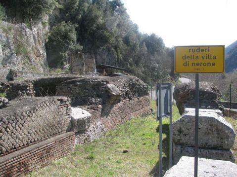 Grazie ai restauri della soprintendenza è oggi possibile visitare il sito della villa di Nerone a Subiaco