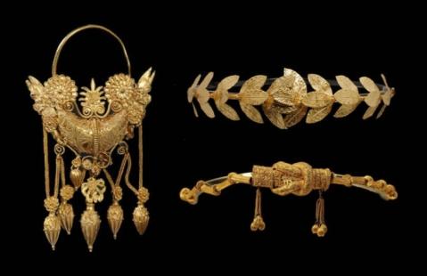 Gli Ori di Tarantoono la collezione più famosa del Marta