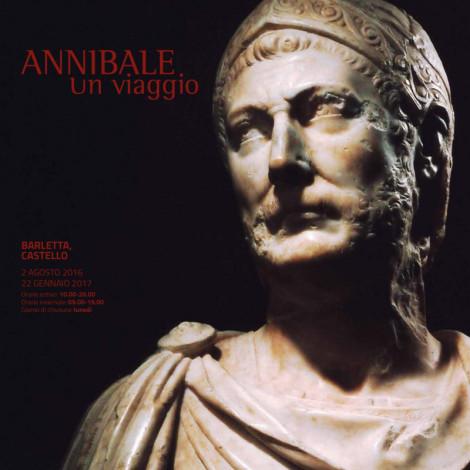 """Il manifesto della mostra """"Annibale. Un viaggio"""" al castello di Barletta fino al 22 gennaio 2017"""