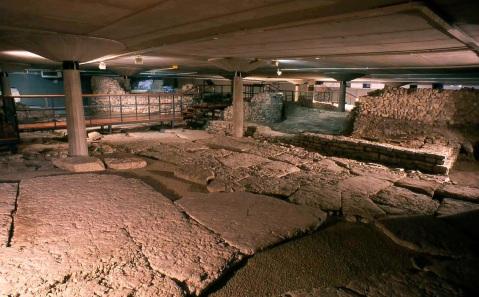 L'area archeologica sotto la piazza della cattedrale di Feltre
