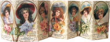 Un calendarietto profumato del 1910