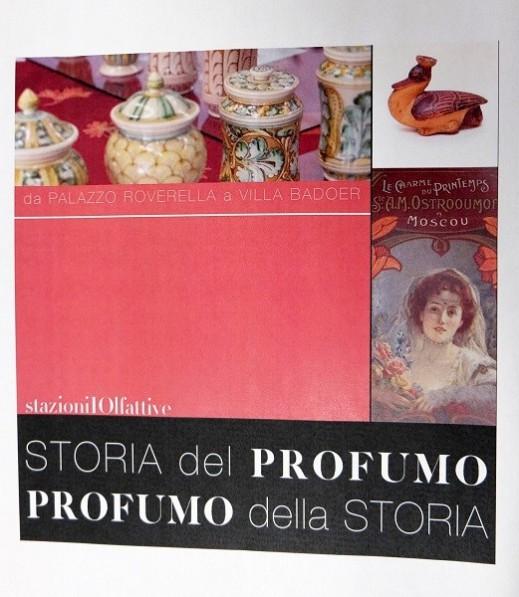 """Al museo Archeologico di Fratta Polesine la mostra """"Storia del profumo, profumo della Storia"""""""