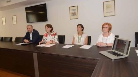 """I quattro curatori della mostra """"Storia del profumo"""": Federica Gonzato, Chiara Beatrice Vicentini, Silvia Vertuani e Stefano Manfredini"""