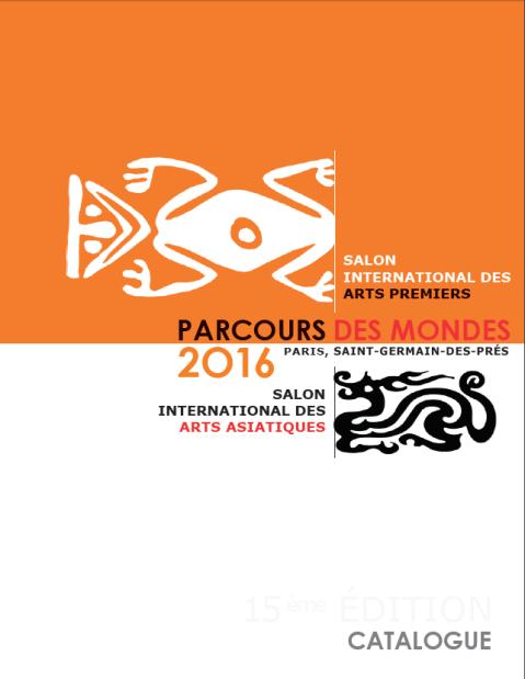 Il catalogo del Parcours des Mondes di Parigi, il salone delle Arti primitive e delle Arti asiatiche