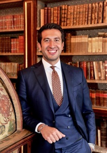 L'imprenditore e collezionista veneziano Inti Ligabue, presidente della Fondazione Giancarlo Ligabue