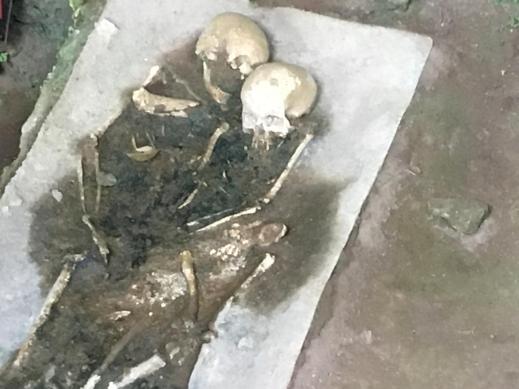 Sepoltura paleolitica rinvenuta nella grotta del Romito a Papasidero in Calabria