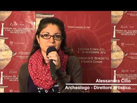 Alessandra Cilio, direttore artistico della Rassegna di Licodia Eubea