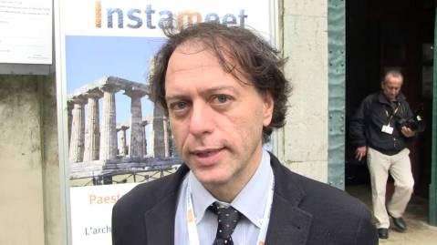 Paolo Giulierini, direttore del museo Archeologico nazionale di Napoli