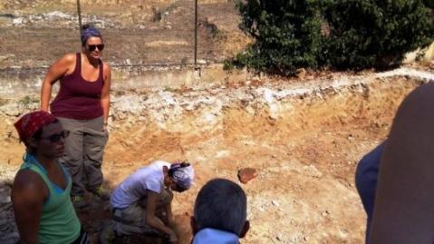 Gli scavi diretti dal prof. Federico Cantini al sito Oratorio - Le Muriccia di Limite sull'Arno