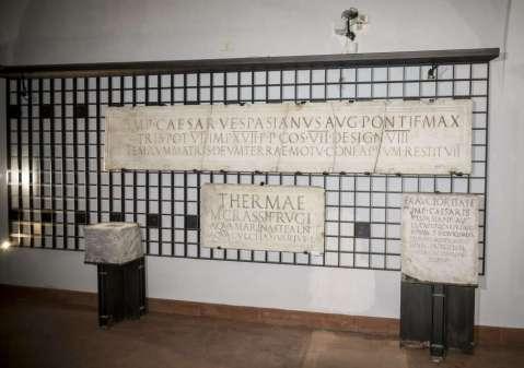 Il nuovo allestimento della collezione Epigrafica del museo Archeologico nazionale di Napoli