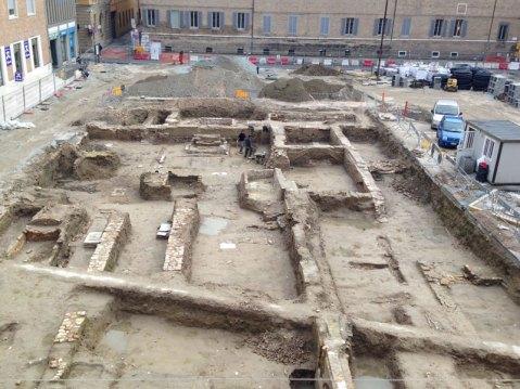Lo scavo della chiesa di Sant'Agnese a Ravenna: ne parla Valentina Manzelli