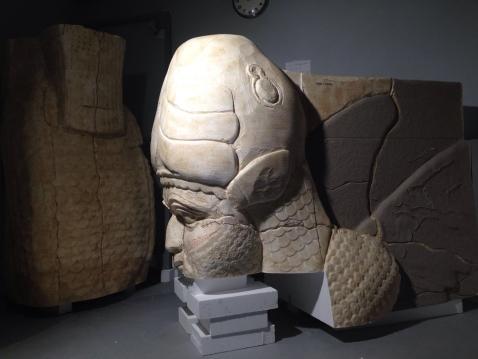 La ricostruzione con stampanti 3D del toro androcefalo di Nimrud
