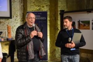Il regista Lucio Rosa e il direttore artistico Lorenzo Daniele