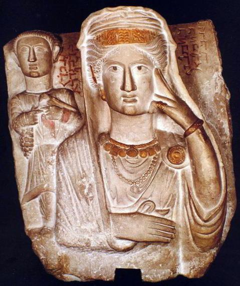 Zenobia, regina di Palmira, sconfitta dall'imperatore Aureliano, morì a Tivoli