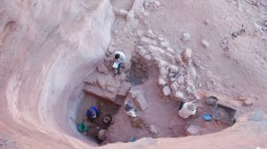 Petra: sistema di raccolta delle acque piovane (foto Leigh-Ann Bedal)