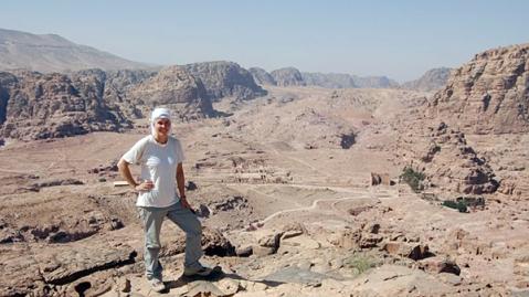 L'archeologa americana Leigh-Ann Bedal direttore del Petra Garden & Pool Complex Project