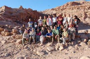 Il team diretto dall'archeologa Leigh-Ann Bedal